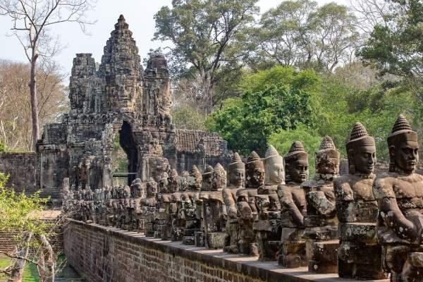 templo camboya paises viajar baratos 2021